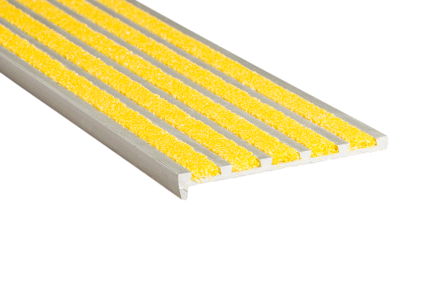 Aalto® 5 Yellow Infill 10x75x5mm RC Silver Nosing