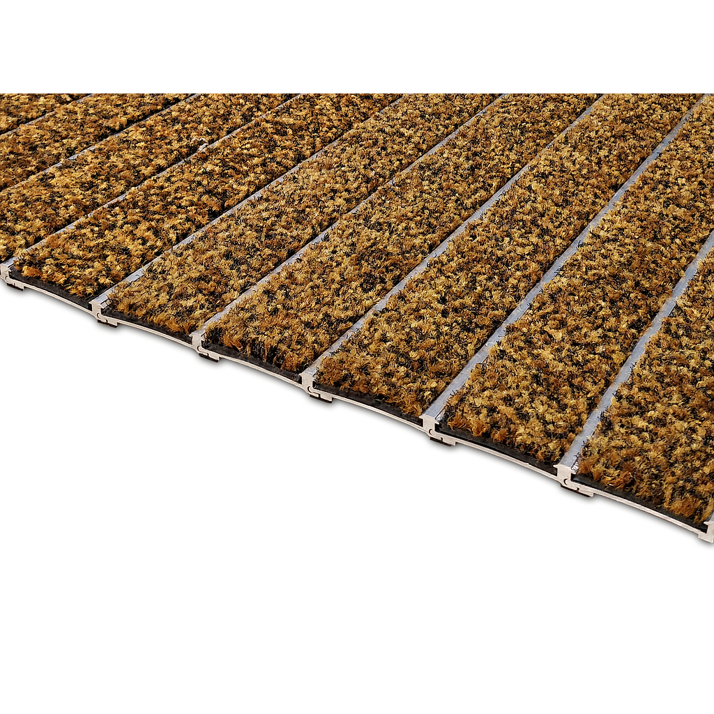 Rohre® Horizon Straw Brown 12mm Entry Mat